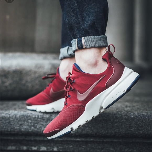 b6ed112f151e NWT Nike Air Presto Fly SE Noble Red WMNS